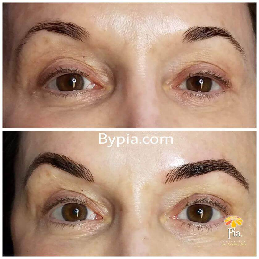 Eyebrow Microblading In Tampa Custom Eyebrow Design
