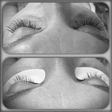 Eyelash extensions by Szilvia kiss at Pia day spa South Tampa location #lashes #beforeandafter #extensions #lashes #dayspa #piaspa