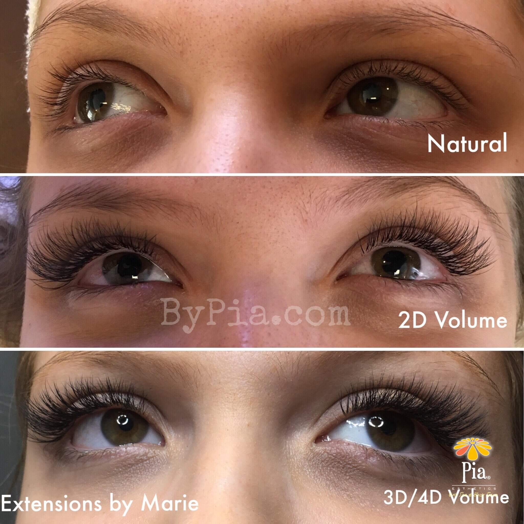 de94ac66747 2D, 3D & 4D Volume Lashes are now available at Pia ...