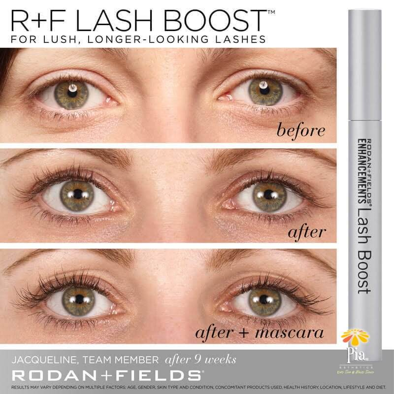 8d1263f600f ENHANCEMENTS LASH BOOST is the new craze on natural lash growing products.  - Pia Day Spa